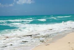 Plage et océan Images libres de droits