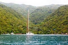 Plage et station de vacances tropicale, île de Labadee, Haïti Photo stock