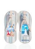 Plage Flip Flops Images stock