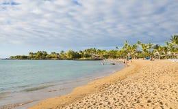 Plage hawaïenne Image libre de droits