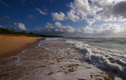 Plage hawaïenne Photos stock