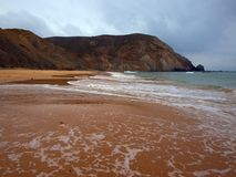 Plage I de paradis d'Algarve Photo libre de droits