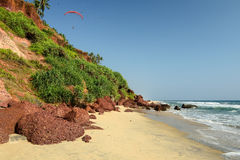 Plage indienne Photo stock