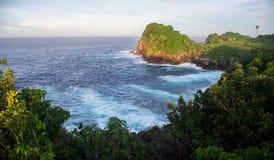 plage Indonésie de pulo de peh photo stock