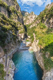 Plage Italie de canyon Photos libres de droits
