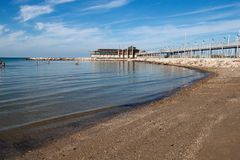 Plage italienne Image stock