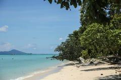 plage kradan de KOH Image libre de droits
