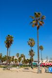 Plage la Californie Etats-Unis de Venise Photo libre de droits