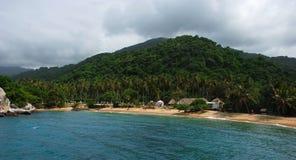 plage la Caraïbe Photographie stock