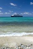 plage la Caraïbe Images libres de droits