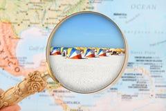 Plage la Floride Etats-Unis de Clearwater photos libres de droits