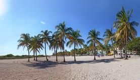 plage la Floride Miami du sud photographie stock libre de droits