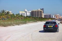 plage la Floride Miami du sud image libre de droits