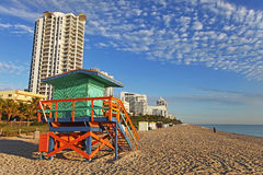 plage la Floride Miami du sud Photo libre de droits