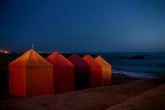 Plage la nuit Photographie stock libre de droits