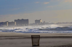 Plage lointaine de Rockaway Photos stock