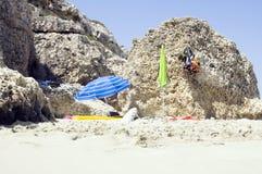Plage Majorca Photographie stock