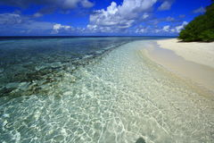 Plage Maldives de Corall Photo libre de droits