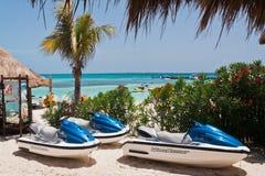 Plage Mexique de Cancun Images libres de droits
