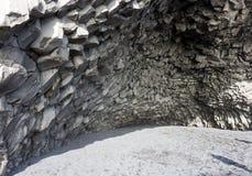 Plage noire, Islande images stock