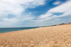 Plage occidentale Dorset de Bexington Images stock