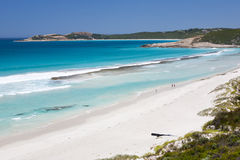 Plage occidentale Esperance Image stock