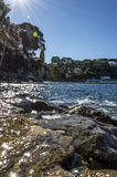 Plage Paloma in Saint Jean Cap Ferrat Royalty Free Stock Photo