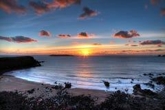 Plage Pembrokeshire de Marloes Photos libres de droits
