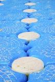Plage phangan de blanc d'île de baie de lomprayah de pilier de kho abstrait de l'Asie Photographie stock