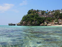 Plage Philippines de Boracay Photo libre de droits