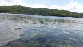 Plage Philippines de Punta Fuego Photos stock