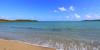 Plage Porto Rico de sept mers Image stock