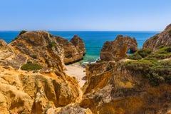 Plage près de Lagos - Algarve Portugal Photos stock