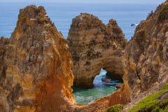 Plage près de Lagos - Algarve Portugal Image stock