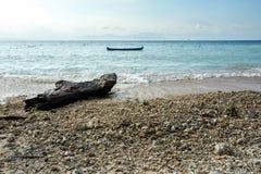 Plage rêveuse, Bali Indonésie, île de Nusa Penida Photo stock