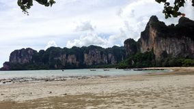 plage railay Images stock
