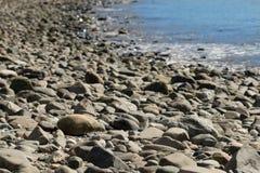 plage rocheuse Photographie stock libre de droits