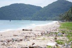 plage sale Photographie stock libre de droits