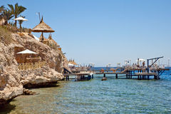 Plage Sharm El-Sheikh Photographie stock
