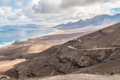 Plage sur Fuerteventura Photographie stock