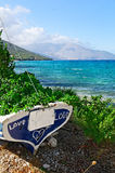 Plage sur Kefalonia Photos stock
