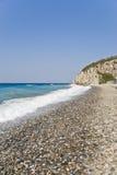 Plage sur l'île de Samos Photo libre de droits