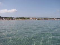 Plage sur l'île de Zakynthos Photos stock
