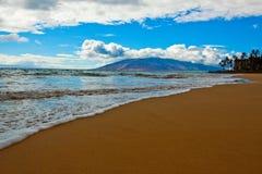 Plage sur Maui Image libre de droits