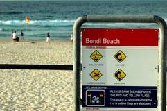 Plage Sydney de Bondi Photographie stock