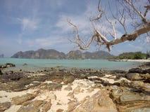 Plage Thaïlande de Phi Phi Don Photographie stock