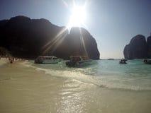 Plage Thaïlande de Phi Phi Ley Photo libre de droits