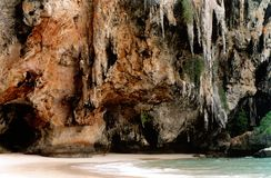 Plage tropicale Images libres de droits