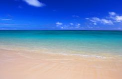 Plage tropicale Photo stock