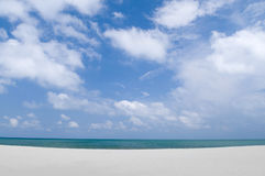 plage tropicale Photos libres de droits